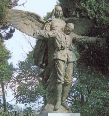 Ettore Ximenes, L'angelo della Carità nel Cimitero degli Eroi di Aquileia