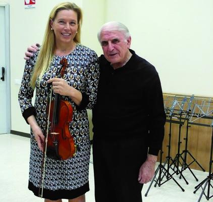 Annalisa Clemente con Bruno Spessot