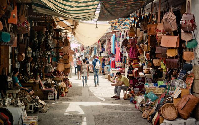 Marocco, un souk (ph. CartOrange)