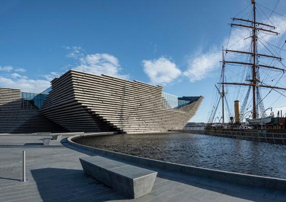 Scozia, Dundee, Victoria and Albert Museum (ph. CartOrange)
