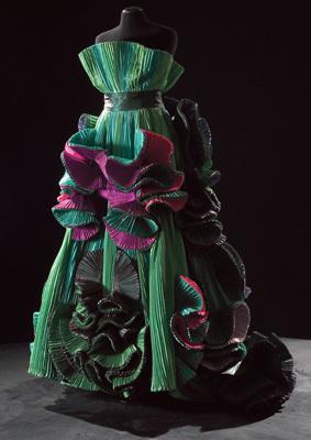 Realizzazione dell' Atelier dei fiori di Capucci (ph. Claudia Primangeli)