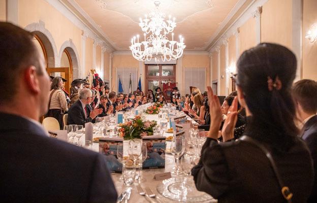 La cena di gala a Palmanova