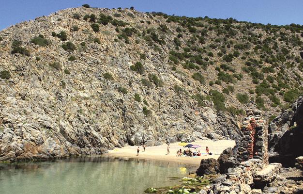 """La spiaggia denominata """"La Caletta"""" (ph. Michele Tomaselli)"""