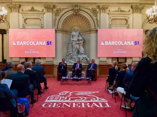 La presentazione in Sala Generali