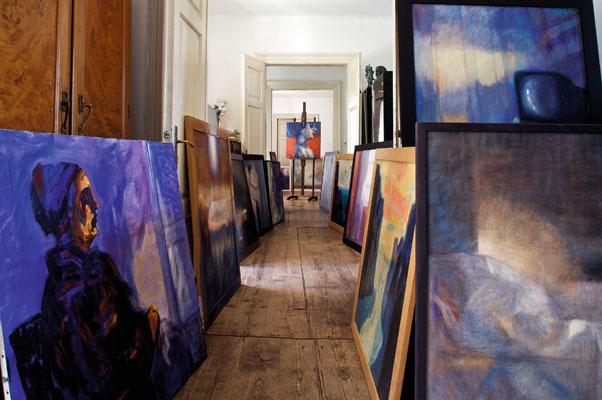 Studio Dora Bassi (© Luigi Vitale)