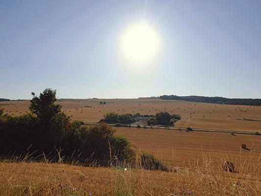 Panorama della Normandia
