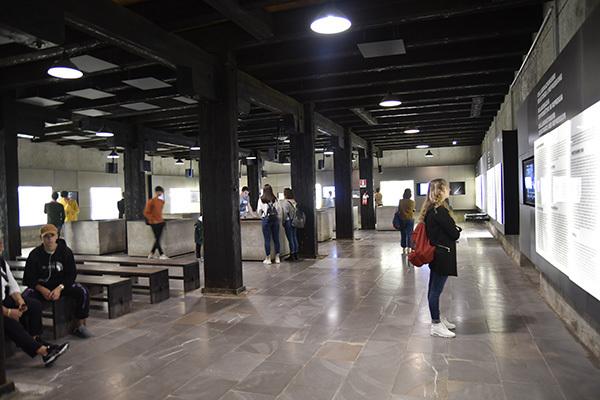 L'interno del Museo della Risiera di San Sabba (ph. Claudio Pizzin)