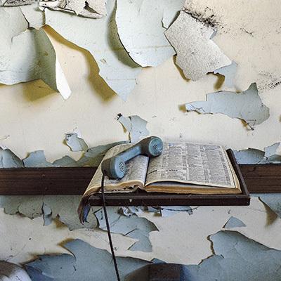 """Immagine tratta dalla mostra e dal libro """"Oltre le porte"""", ex ospedale psichiatrico Sant'Osvaldo, Forum Editrice, 2018"""
