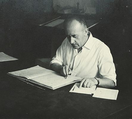 Lino Antonelli (1917-1988) per trenta anni maestro di Posta a Turriaco