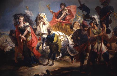 "G. Tiepolo, ""Trionfo di Aureliano"" (Torino, Galleria Sabauda)"