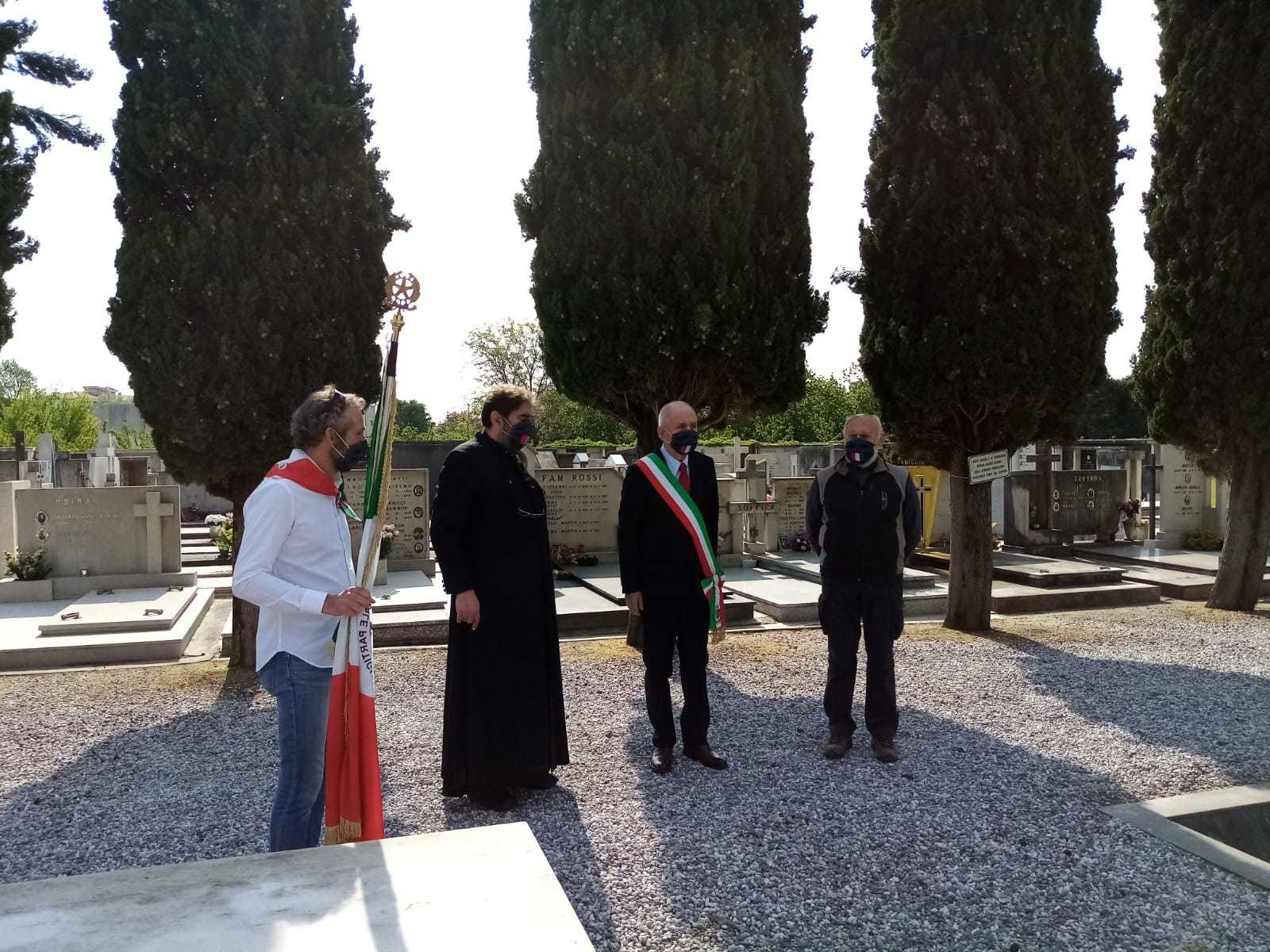 La cerimonia di Staranzano