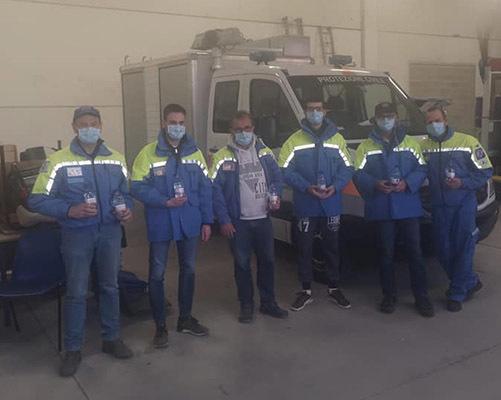 Volontari della Protezione Civile di Trivignano Udinese