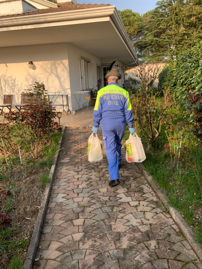 Consegna delle spese a Gorizia