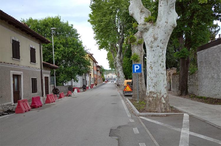 Viale della Serenissima a Ronchi dei Legionari