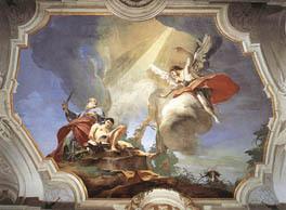 """G. Tiepolo, """"Sacrificio di Isacco"""" (Udine, Palazzo Patriarcale)"""