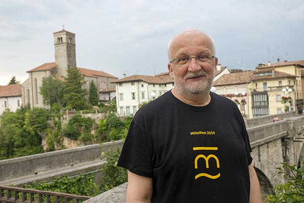 Haris Pašović direttore artistico di Mittelfest (ph. Luca d'Agostino)