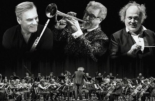 Griminelli, Maur e Basso con la FVG Orchestra
