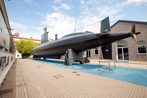 Poppa del Sottomarino Toti - Museo della Scienza (© Paolo Soave)
