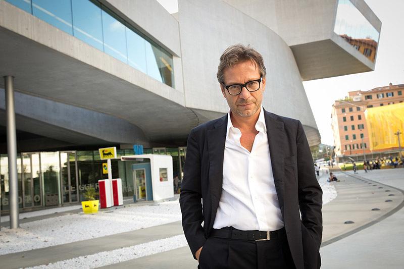Massimo Recalcati (foto Musacchio e Iannello, Courtesy fondazione Maxxir)