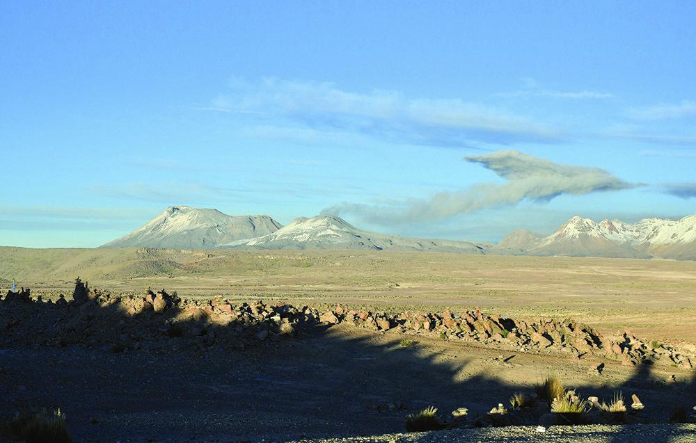 Il vulcano Sawankaia (ph. Claudio Pizzin)