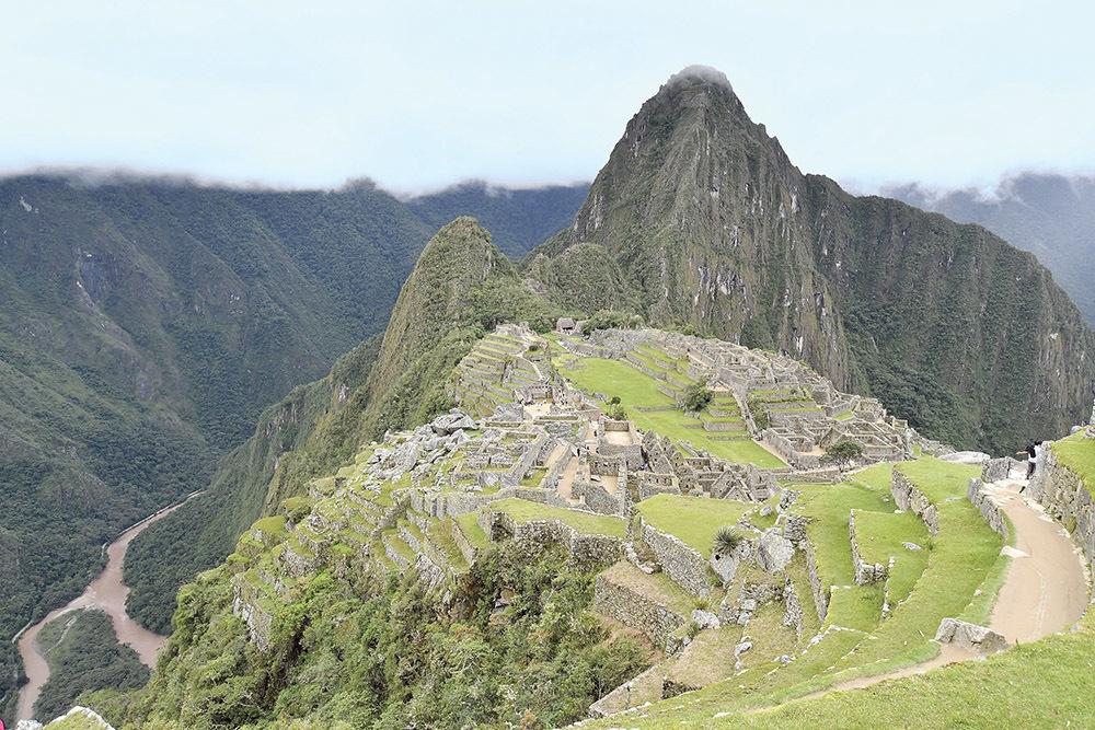 La maestosità del Machu Picchu (ph. Claudio Pizzin)