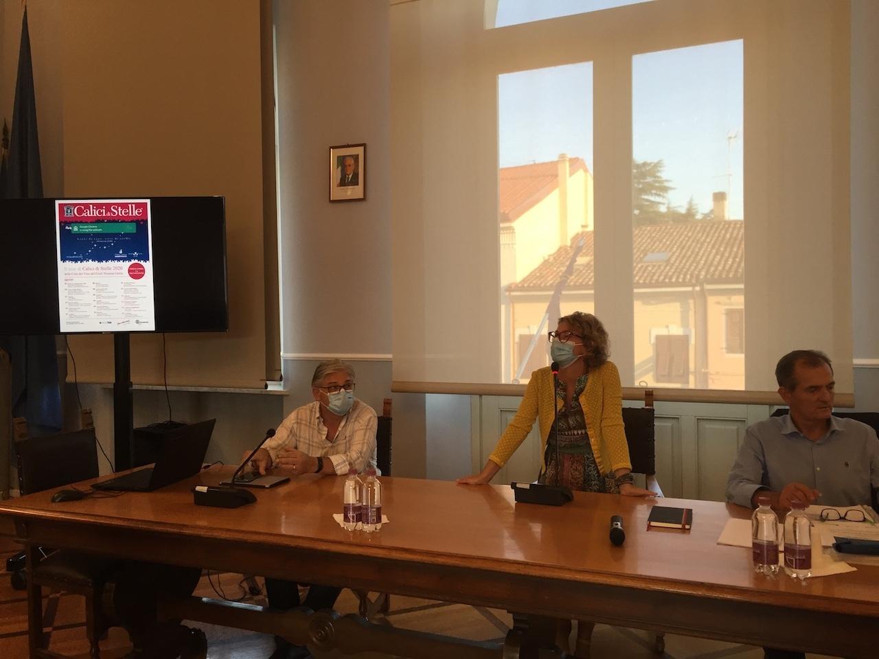 Il saluto del sindaco di Gradisca, Linda Tomasinsig