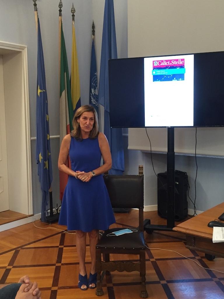 L'intervento del sindaco Pallotta di Duino-Aurisina