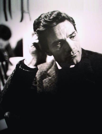 Pier Paolo Pasolini (ph. Mario Dondero)