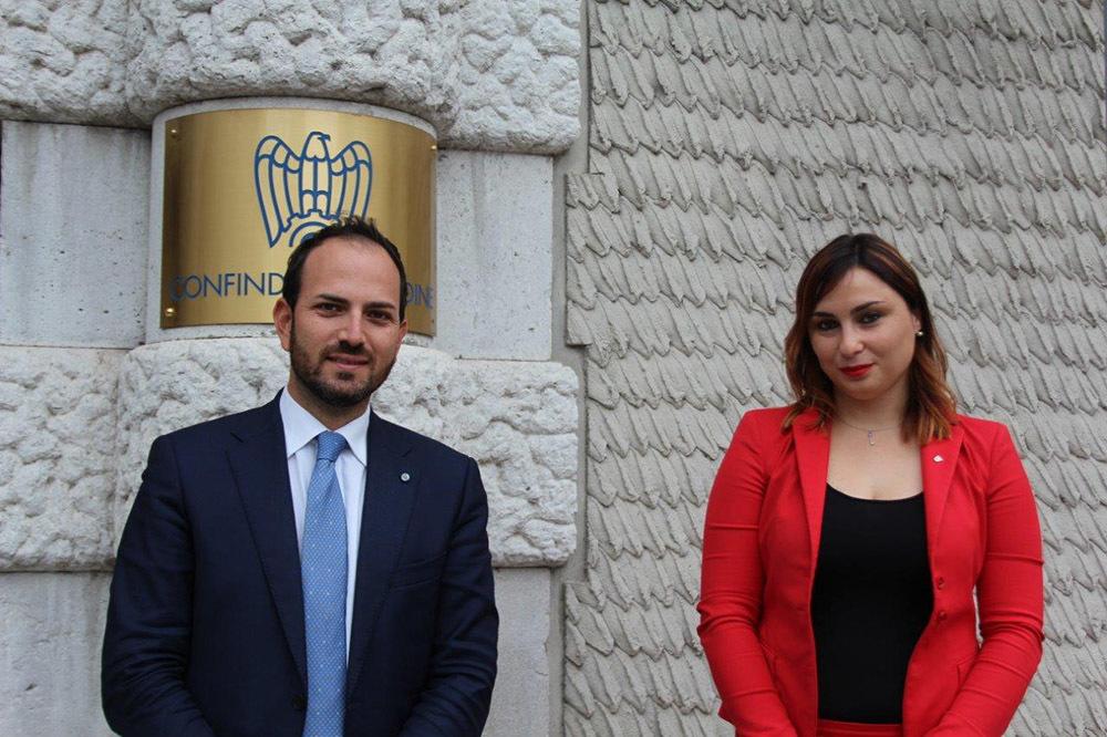 Riccardo Di Stefano e Valentina Cancellier