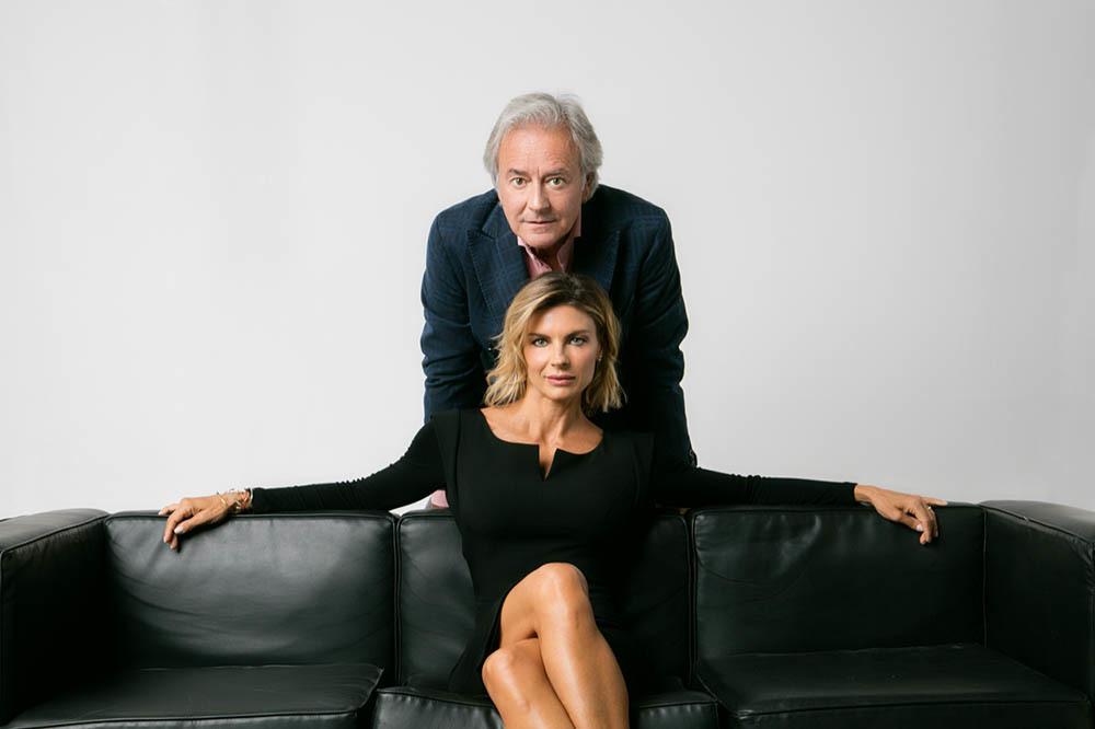 Corrado Tedeschi e Martina Colombari