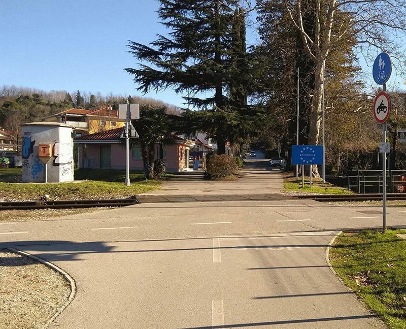 Gorizia, Valico del Rafut (© Stefano Miniussi)