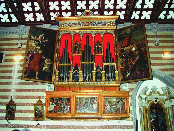 L'organo del duomo di Valvasone (ph. natisone.it)