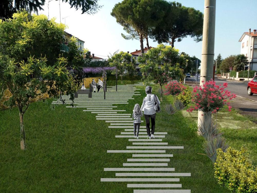 Tra gli interventi previsti anche quelli a giardini e aree verdi