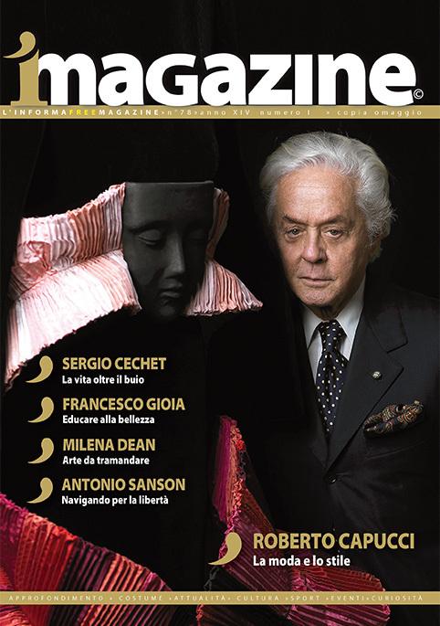 La copertina di iMagazine dedicata a Roberto Capucci
