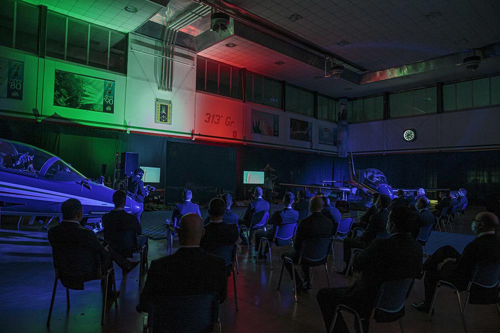 L'Hangar di Rivolto durante la presentazione