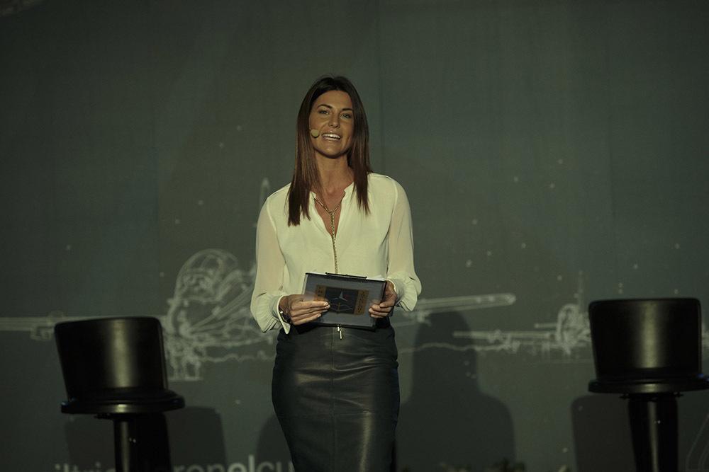 Barbara Pedrotti, conduttrice della serata