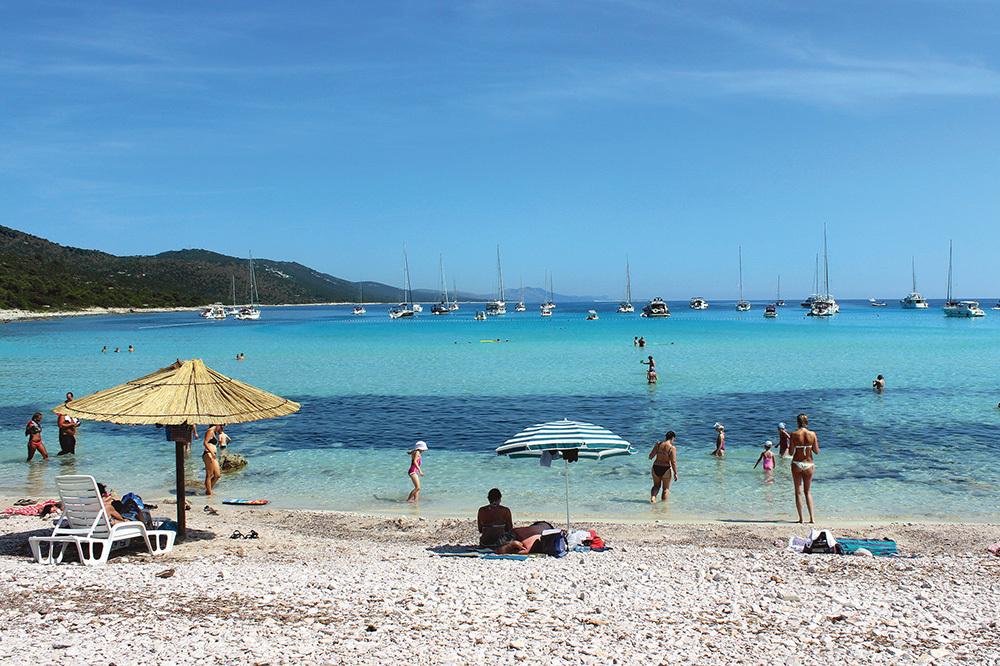 Spiaggia di Sakarun (ph. Michele Tomaselli)