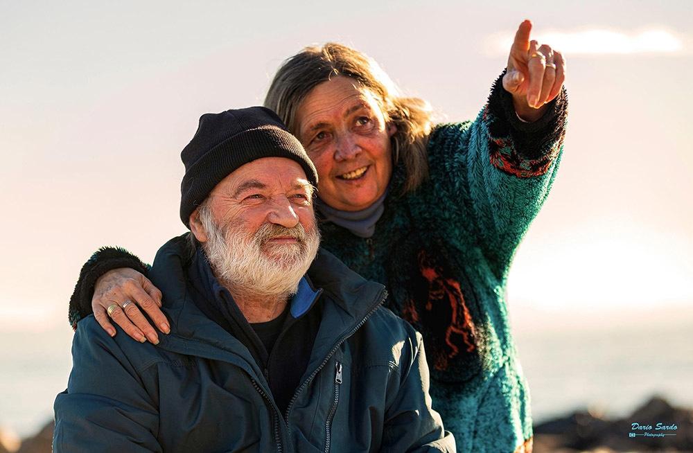 La giudice Brunella Papa con il marito Gilberto