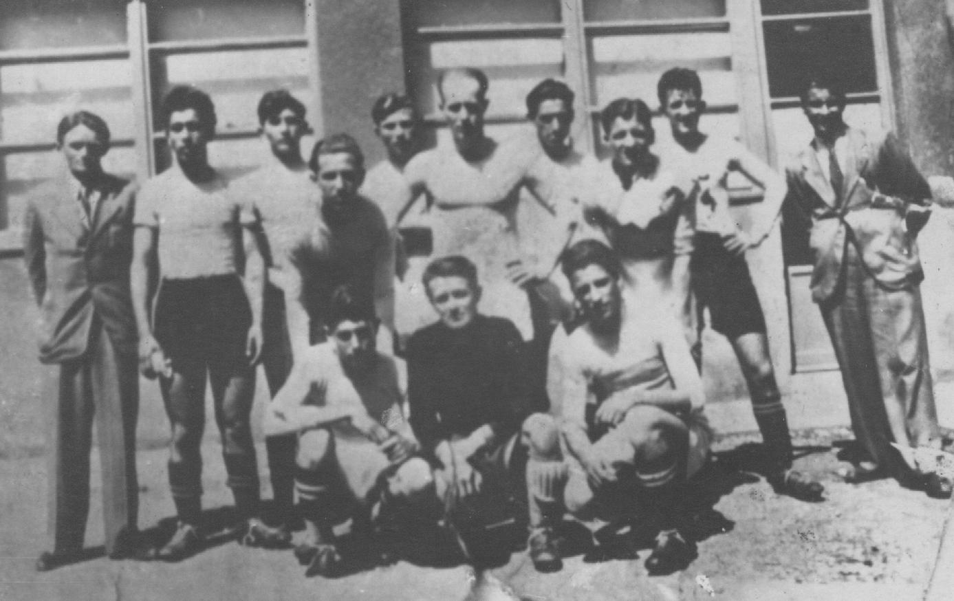 Armando Calligaris a Fiume nel 1942