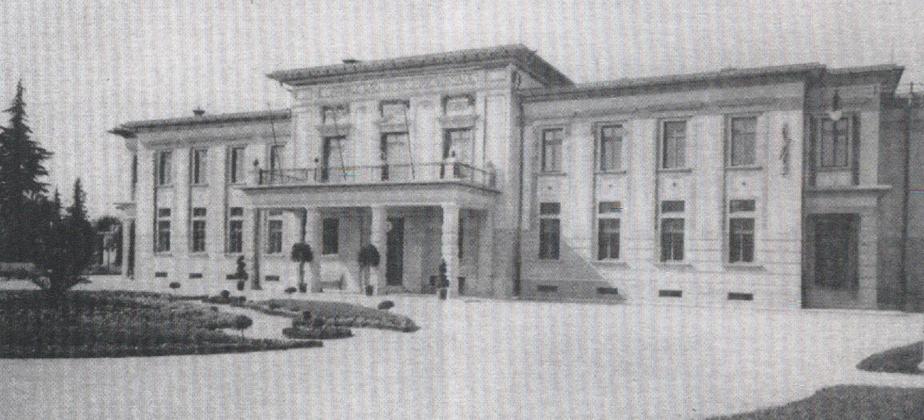 L'ospedale a Gorizia