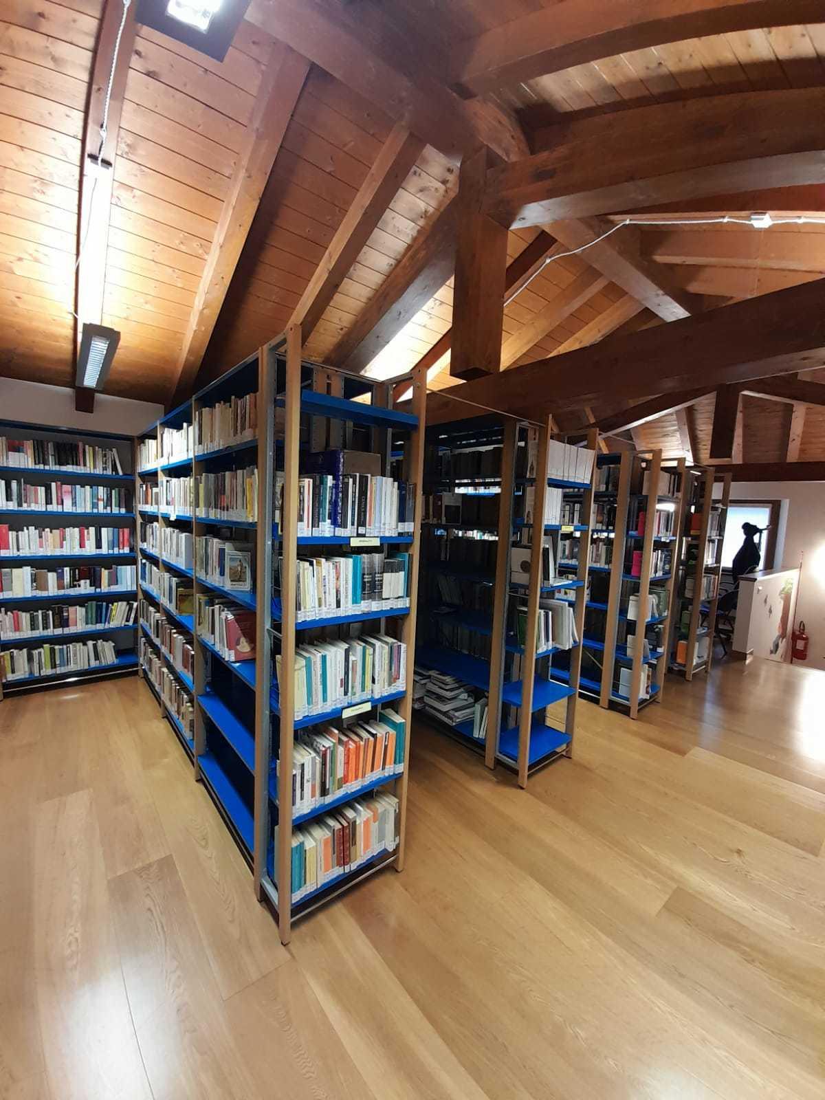 La biblioteca di Trivignano Udinese