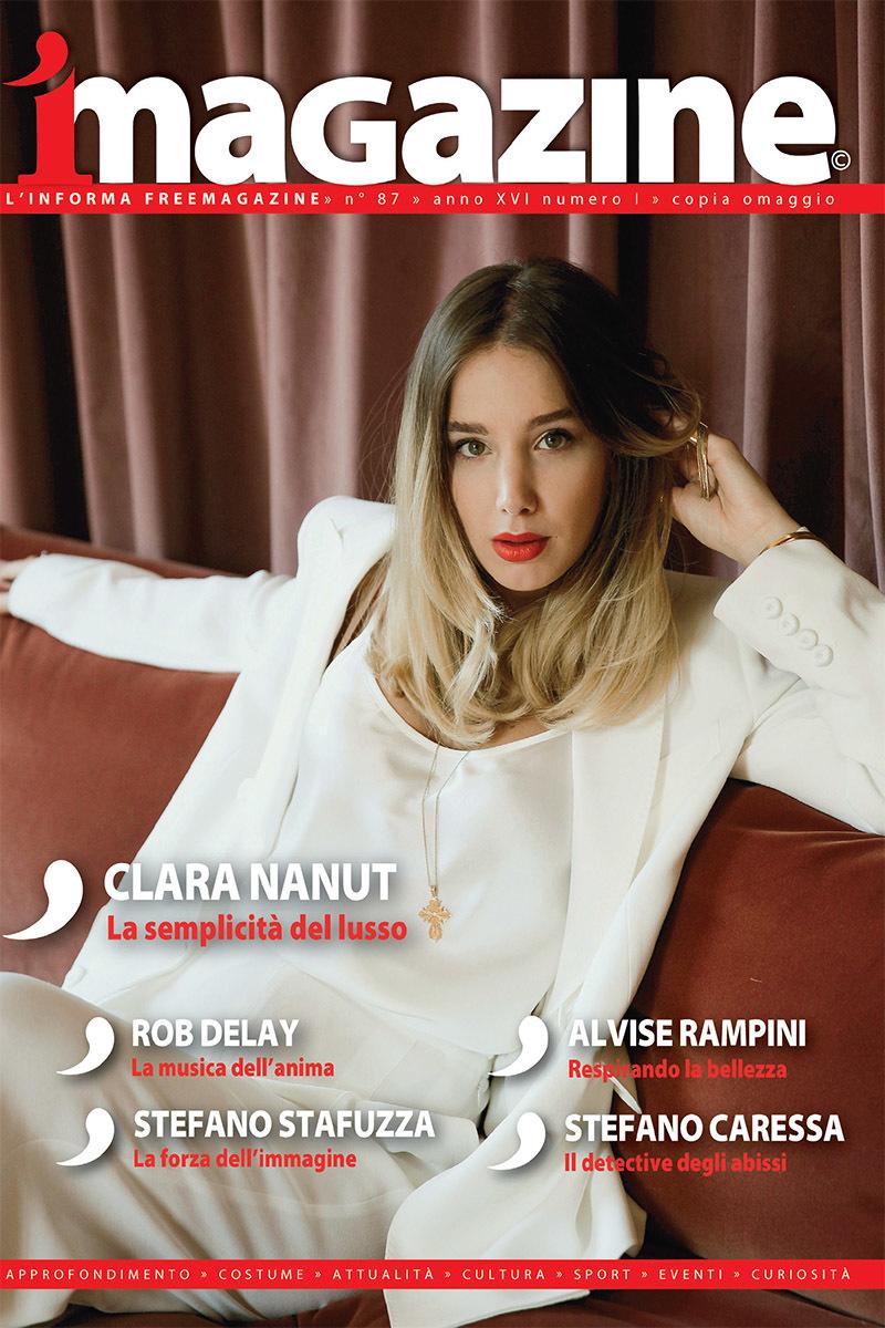 Clara Nanut sulla copertina di iMagazine