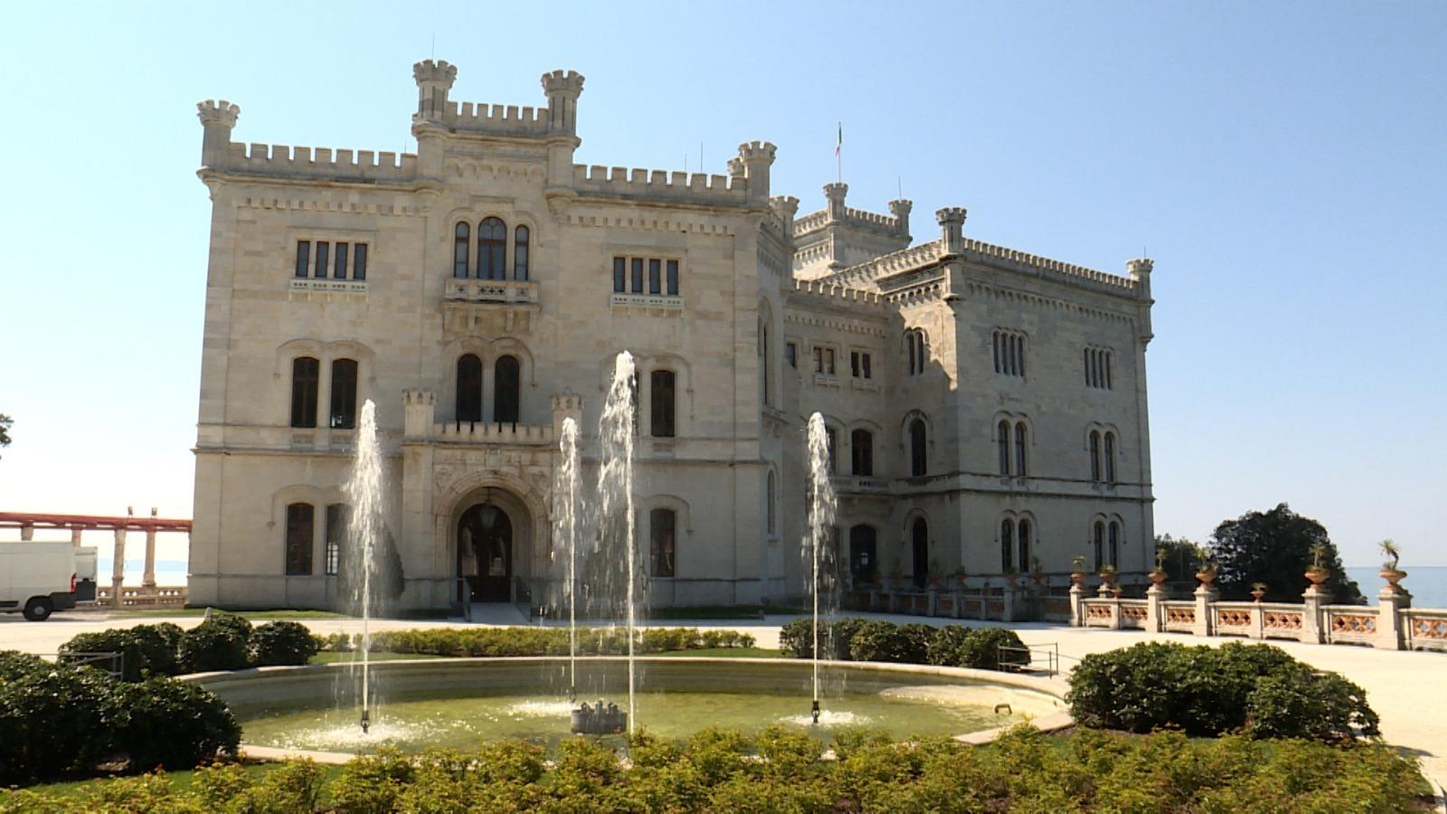 Il castello di Miramare (ph. Regione FVG)