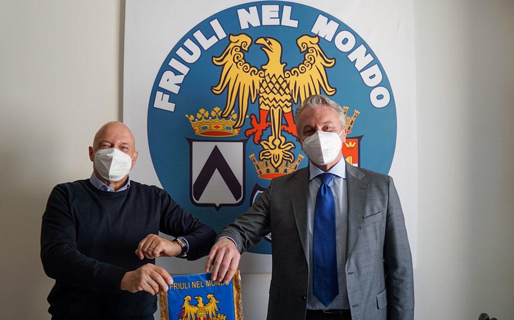 Loris Basso (a sinistra) e Roberto Corciulo