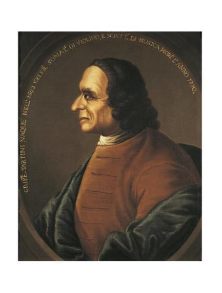 Giuseppe Tartini, ritratto anonimo (Bologna, Museo della Biblioteca della musica)