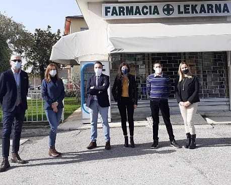 Il direttivo delle farmacie comunali di Gorizia