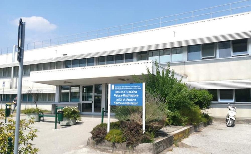 L'ospedale Gervasutta di Udine
