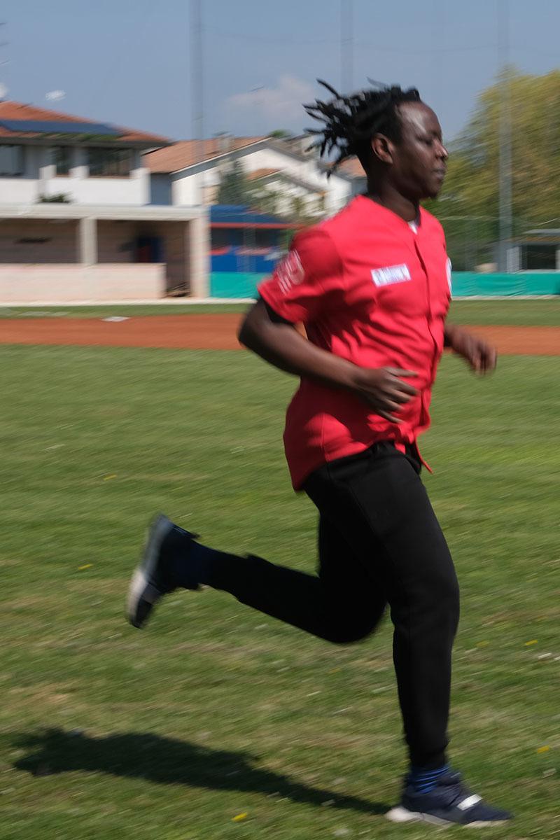 Ba Mohammad, giocatore ipovedente proveniente dal Gambia