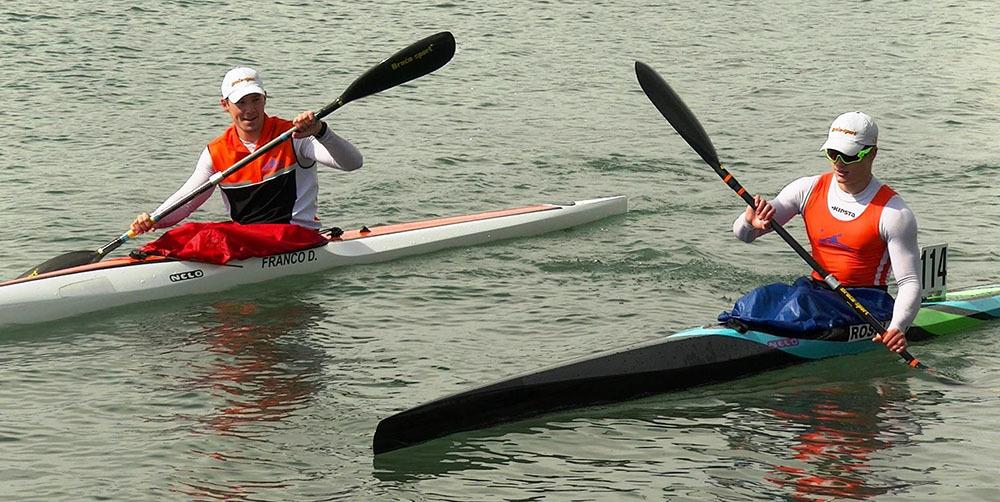 Davide Franco e Giacomo Rossi, i due azzurri U23 nel kayak