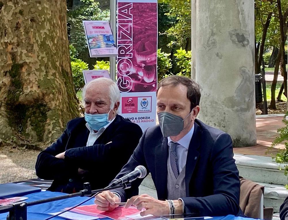 Cainero, a sinistra, e Fedriga (ph. Regione FVG)